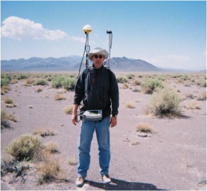 Ground-based magnetometer survey in Death Valley